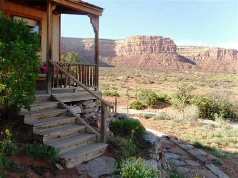 Valley Of The Gods Bed And Breakfast by Porch With Fantastic View Picture Of Valley Of The Gods