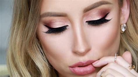 Huda Make Up Palett Dompet huda gold palette makeup tutorial