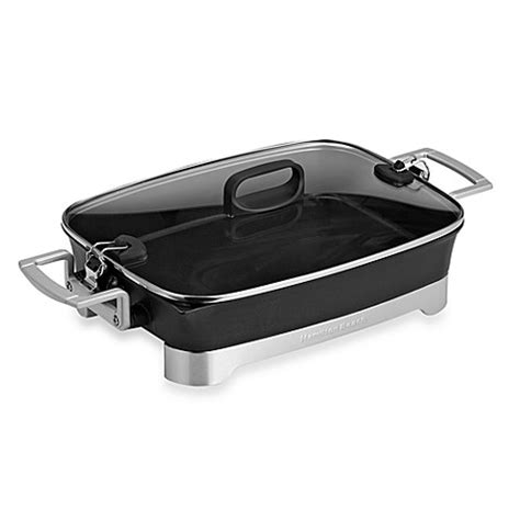 bed bath and beyond hamilton nj buy hamilton beach 174 premiere cookware electric skillet from bed bath beyond