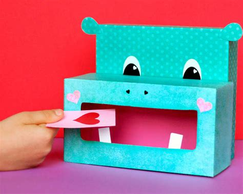 valentines day boxes hippo box family crafts