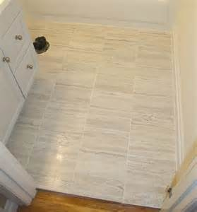 Bathroom Floor Tile Grout How To Install Peel And Stick Vinyl Tile That You Can