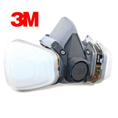 Masker Respirator 3m 6200 7 In 1 3m 6200 respirator half gas mask painted activated carbon mask against organic vapor gas