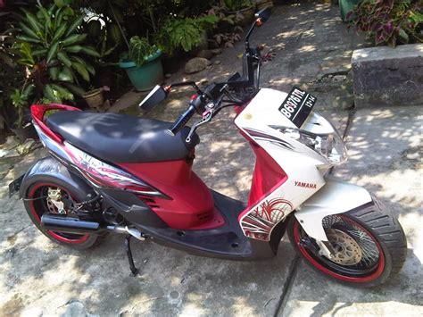 Modif Mio Sporty Touring by Mio J Modifikasi Touring Thecitycyclist