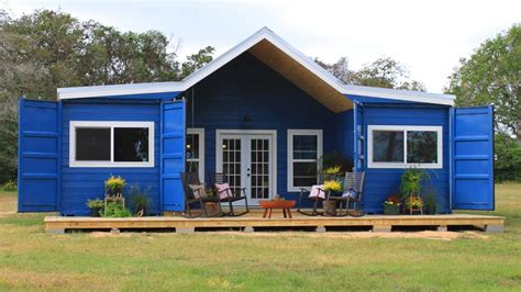 Adding Shipping Container To House - beautiful modern farmhouse shipping container home