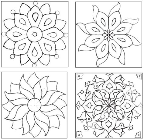 tile pattern templates 8 best images of easy mosaic patterns printable easy