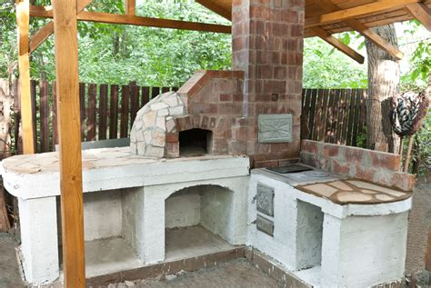 How To Build An Outdoor Pizza Oven Howtospecialist How Backyard Brick Oven Plans