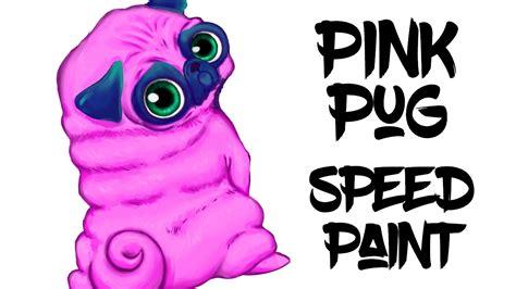 the pink pug pink pug speedpaint raudraws