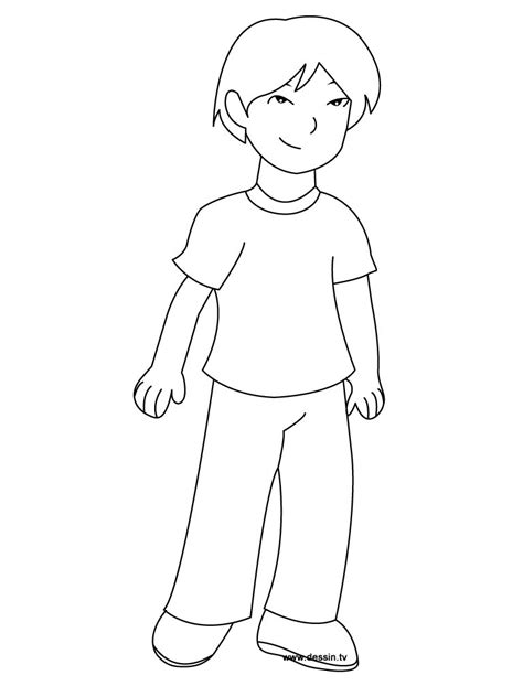 Outline Coloring Page by Coloring Pages Outline Of Boy Colouring Pages Boys Coloring Pages 101 Coloring Pages
