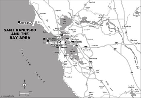 san francisco coast map plan a california coast road trip including detours for