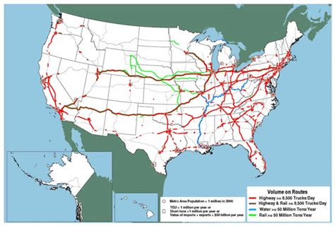 map of the united states with major highways the united states interstate system images frompo
