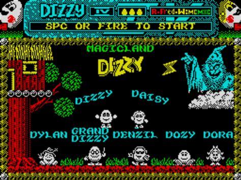 emuparadise zx spectrum dizzy iv magicland dizzy 1989 codemasters 128k rom