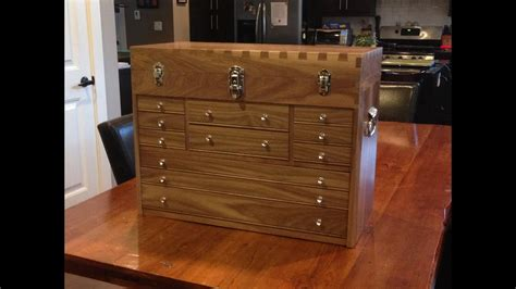 dovetail tool chest part  wood selection