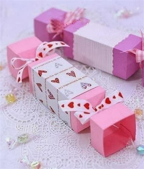 Handmade Gift Box - 40 creative diy favor boxes hative