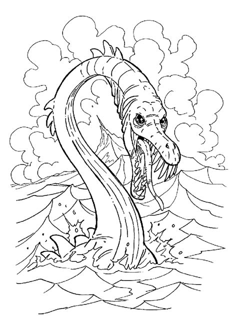 sea dragons coloring pages coloring page sea dragon