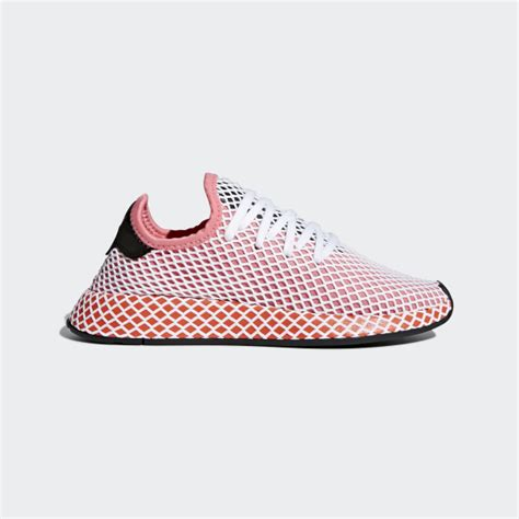 adidas deerupt runner shoes pink adidas us
