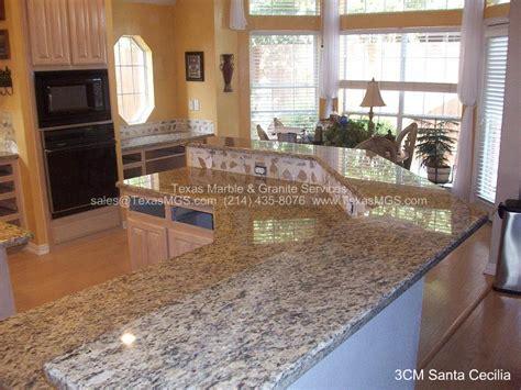 Santa Cecilia Light Granite Kitchen Pictures Granite Counter Tops Gallery Custom Kitchen And Bathrooms
