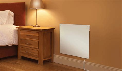 most efficient heater for bedroom new 425w eco paintable wall panel heater ebay