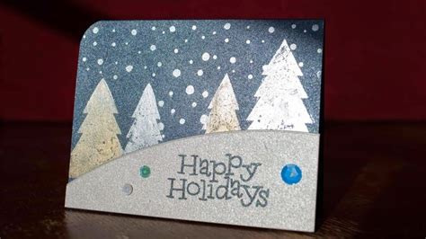 tutorial carding november 2014 christmas card making tutorial using perfect pearls and