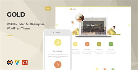 gold themes wordpress gold responsive business wordpress theme by europadns