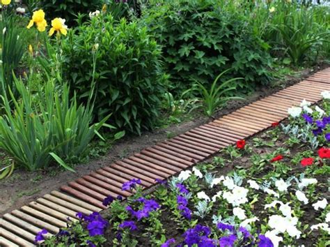 garden path ideas 30 green design ideas for beautiful wooden garden paths