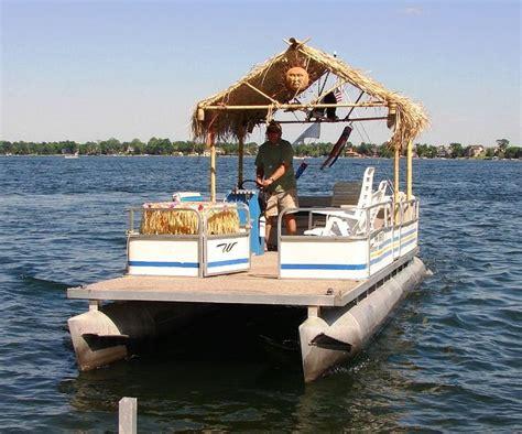 homemade pontoon boat plans homemade pontoon boat maker here are a few choice pics