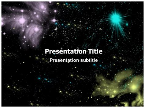 templates powerpoint space powerpoint templates space theme free image collections