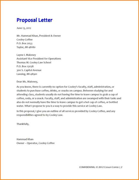10 business proposal exle simple proposal template 2017