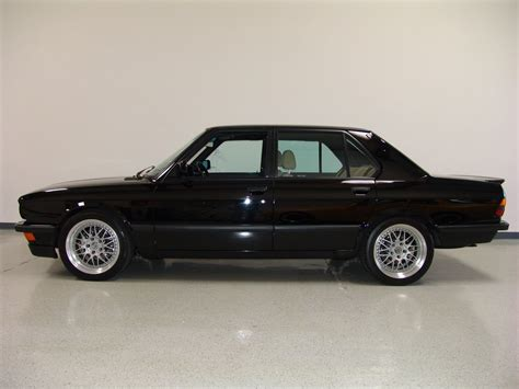 bmw e28 m5 for sale low mileage 1988 bmw m5 previously owned by frank gerber
