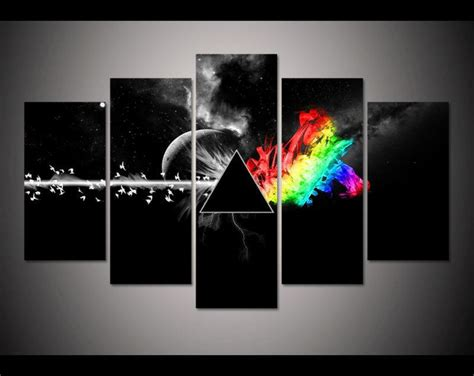 pink floyd the dark side of the moon 5 piece canvas