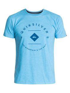 Kaos Berkerah Quiksilver quiksilver s quot doomsday mt0 quot t shirt black qsyt0lm5 blk fashion tags link