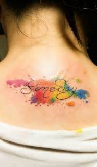 water color tatto the concept watercolor tattoos look so