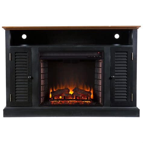 Realistic Electric Fireplace Realistic Electric Fireplace The Most Realistic Electric Fireplace Hammacher Schlemmer