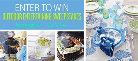 Bonappetit Gift Card - bon appetit sweepstakes surlatable gift card giveaway