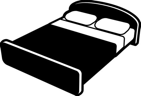 bed vector free vector graphic bed hotel motel accommodation