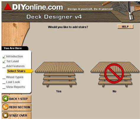 design deck free software deckdesigner design a deck online for free