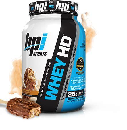 Bpi Protein bpi whey hd at performancenutrition performance nutrition