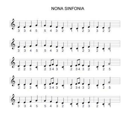 beethoven 9 sinfonia piano m 250 sicas de teclado keyboard nona sinfonia de