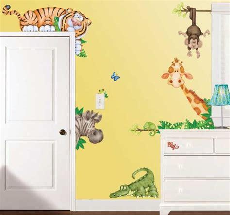 Wandtattoo Kinderzimmer Jungle by Wandtattoo Kinderzimmer Dschungel