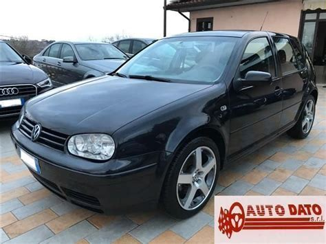 auto 4 porte sold vw golf iv 1 9 tdi 150 cv 5 used cars for sale