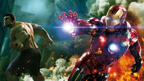 marvel ironman and hulk in film your geeky wallpapers movie tv video game and anime