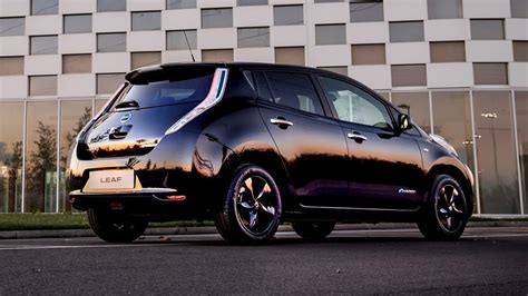 black nissan nissan leaf black edition nissan