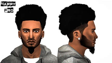sims 4 guy hair cc sims 4 short curly hair hairs picture gallery