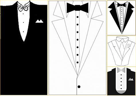 tuxedo card templates and tuxedo templates oh my wedding
