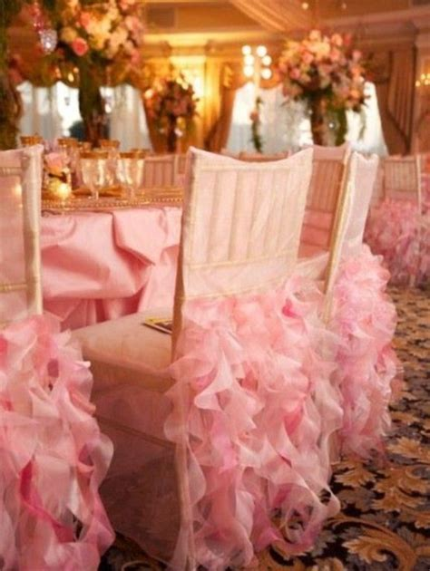 Wedding Chair Decorations   Weddings Romantique