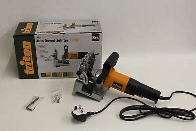 Bnib Triton Tdj600 Duo Dowel Jointer With Adjustable Fence