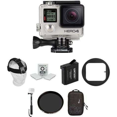 Go Pro Hero4 gopro hero4 silver ski kit b h photo