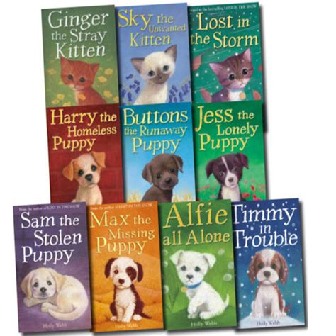 webb 10 books collection set puppy and kitten