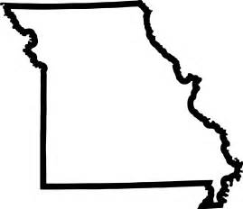 Missouri State Outline by Outline Clipart Best