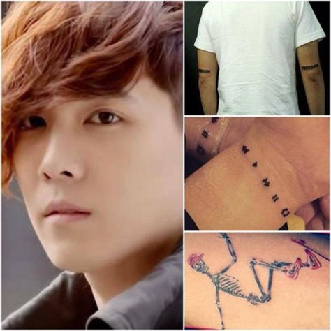 kpop tattoos vote which k pop looks best with tattoos soompi