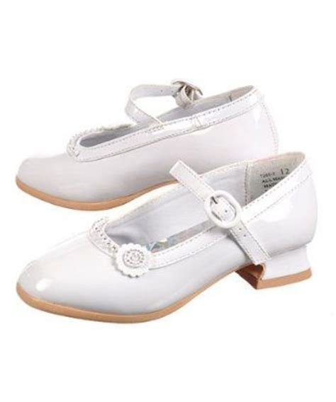 white easter shoes ankle socks confirmation and white gloves on